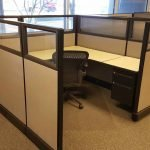 Herman Miller AO2 Glass Cubicles 6x6x67