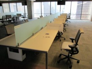 Pre Owned Steelcase Frame One Benching