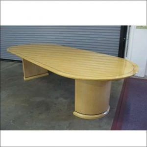 Used 12 ft Maple Veneer Conference Table