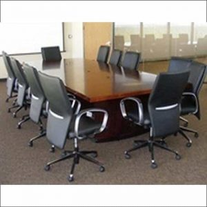 Used 12 ft. mahogany conference table