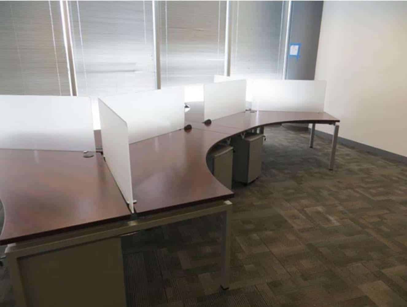 New 120 Degree Open Plan Cubicle Workstations