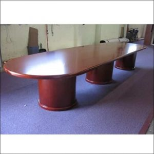 Used 14 Ft Race Track Conference Table