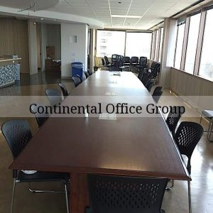Used 24ft conference room table
