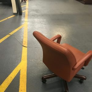 Leather Cabot Wrenn Conference Chairs Used