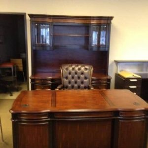 Used 3 piece executive desk set