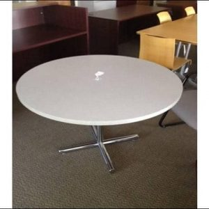 "Used 42""x42"" BREAK ROOM TABLES"