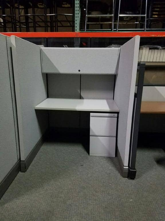 Used Herman Miller AO3 4x4x63in Cubicles