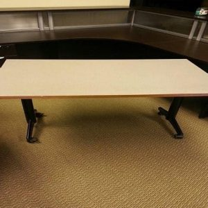 Used Kimball 48x30 Mobile Training Tables