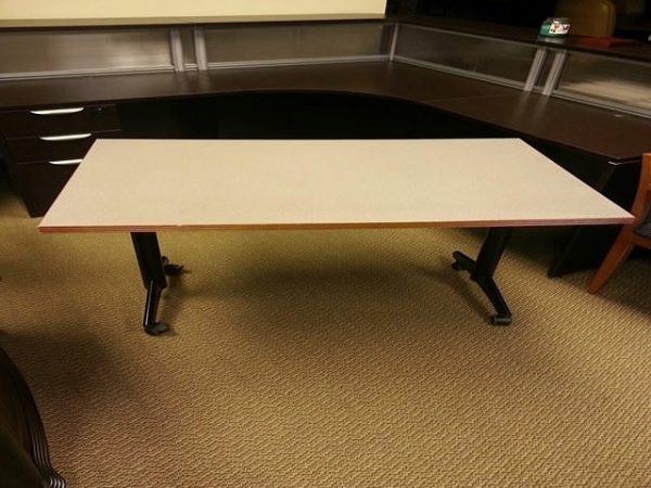 Used Kimball 48×30 Mobile Training Tables