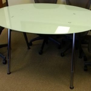 Used 6 ft glass conference tables