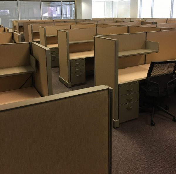 Used Herman Miller A02 6x7x53