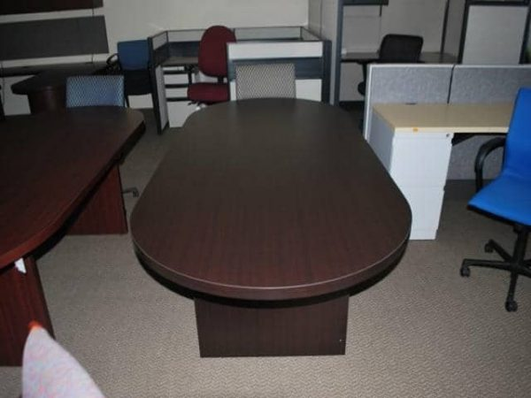 Used 8 Ft Conference Table Espresso
