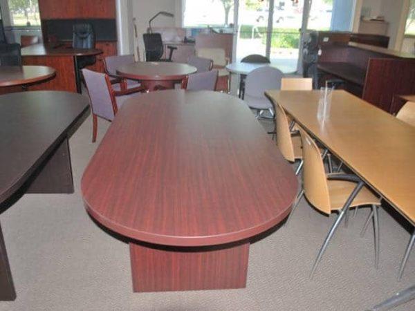 8-Ft-Mahogany-Conference-Table