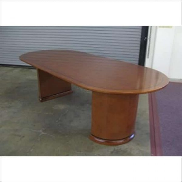 Used 8 ft Veneer Conference Table Cherry