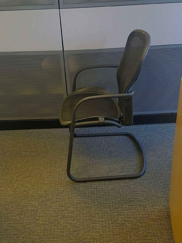 Herman Miller Aeron Side Chairs Front View