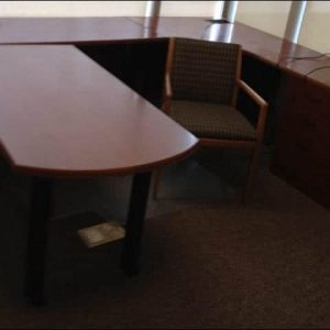 Used Bernhardt Executive U-shaped desk