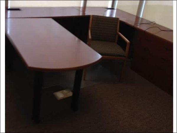 Used Bernhardt Executive U-shaped desk