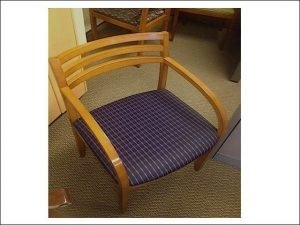 Used Maple Frame Bernhardt Wood Side Chairs