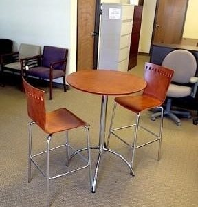 Used Bistro Cafe Bar Tables
