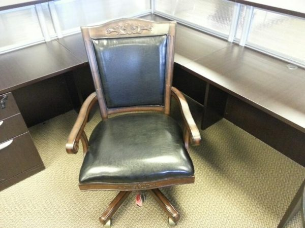 Used Black Executive Office Chair