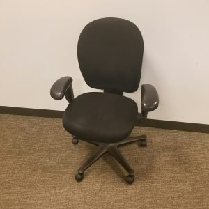 Used black fabric black frame Herman Miller Ambi Office Chair