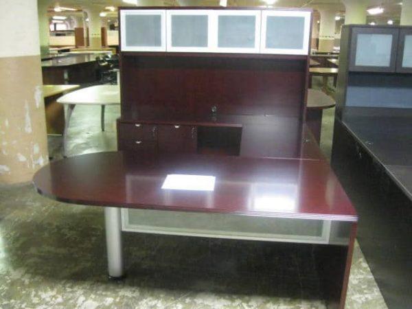 Used Bullet U Shaped Desk
