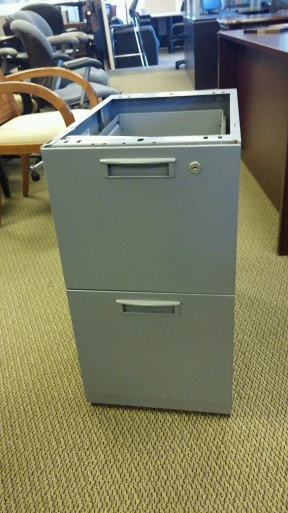 Preowned File Pedestals from Steelcase