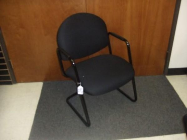 Used black on black Steelcase guest chairs