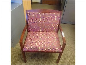 Used Bernhardt Maple Frame Wood Side Chairs