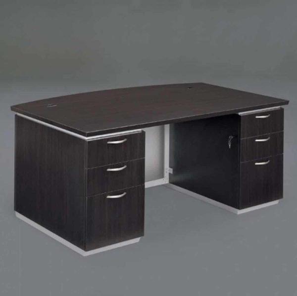 DMI Pimlico Executive Bow Front Desk 7020-37 Picture 1