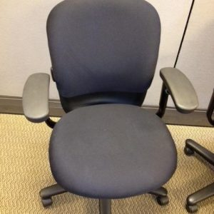 Used Black Fabric Steelcase Drive Chairs