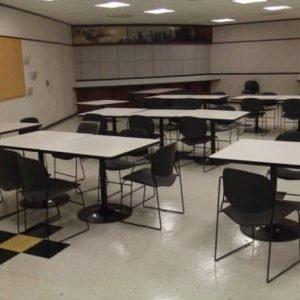 Used ki break room tables