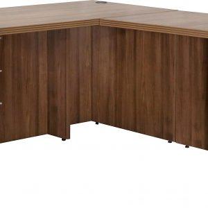 New L Shape Desk Modern Walnut Series Office Desks