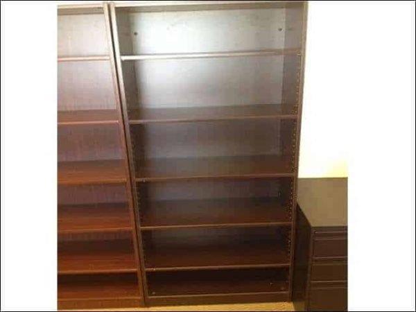 Used Espresso Bookcases