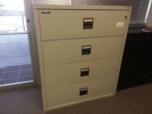 Used Fire King Fireproof Lateral Filing Cabinets