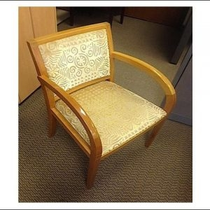 Used Geiger Side Chair W/ Maple Frame