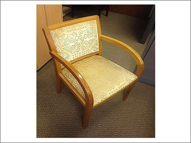 Geiger Guest Chairs Maple Frame