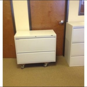 Used Global 2 Drawer Laterals 36″ Wide File Cabinets