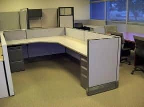 Used Herman Miller AO3 cubicles