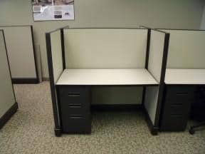 Secondhand Herman Miller A02 Clone 4×2 Cubicles