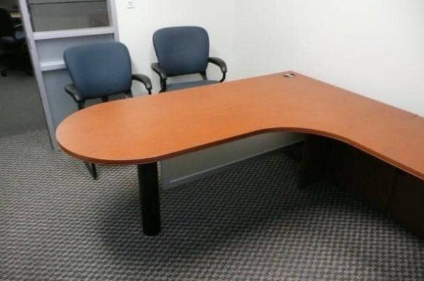 Used Hon L-Shape Desks