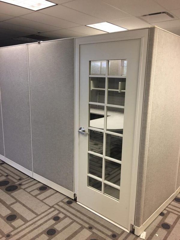 Haworth Cubicles with Doors