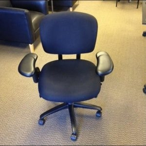 Used Haworth Improv Black Task Chair