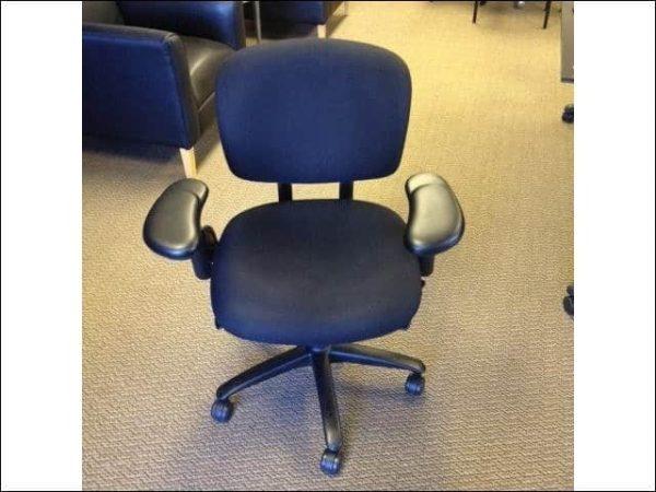 Used Haworth Improv Black Task Chair