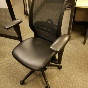 Used Leather Seat Haworth Improv Tag Office Chairs