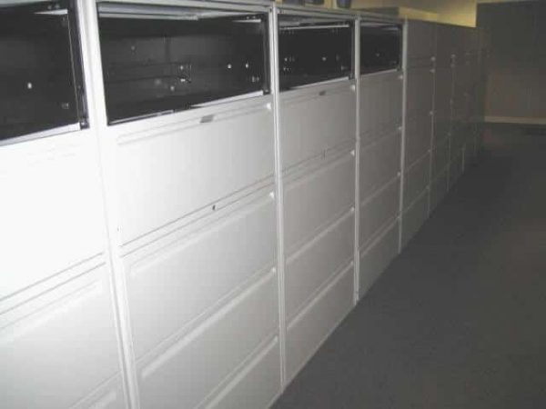 Secondhand Haworth Lateral File Cabinets