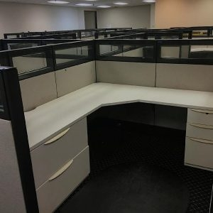 Used Haworth Premise Enhanced Cubicles