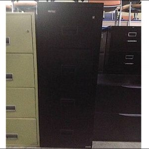 Used Hercules Fireproof 4 Drawer Vertical File Cabinets