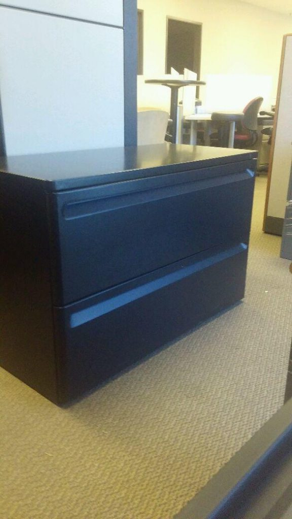 Used Herman Miller 2 Drawer Lateral File Cabinets