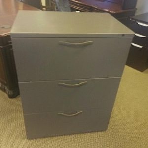 Used Herman Miller 3 Drawer Lateral Files